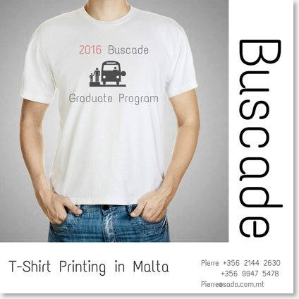 T-Shirts in Malta Printing