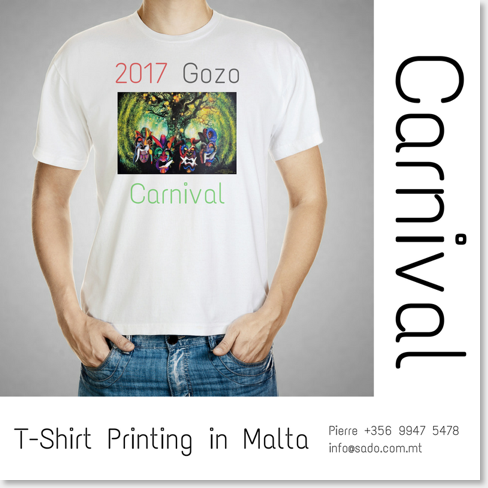 Print your carnival t-shirts
